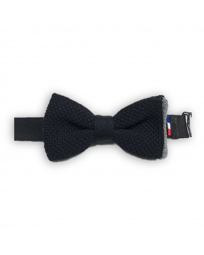 noeud papillon classic made in france en coton tricot fin db2f2c2a0c2