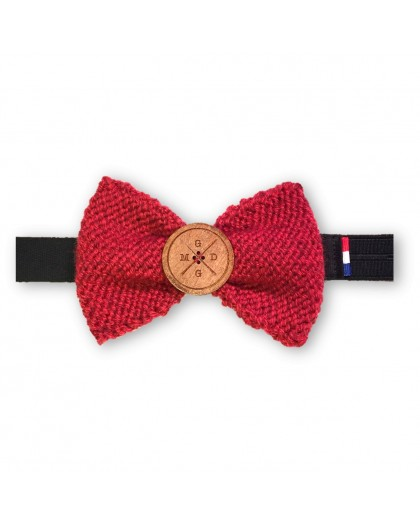 Wool & Wood rouge chiné
